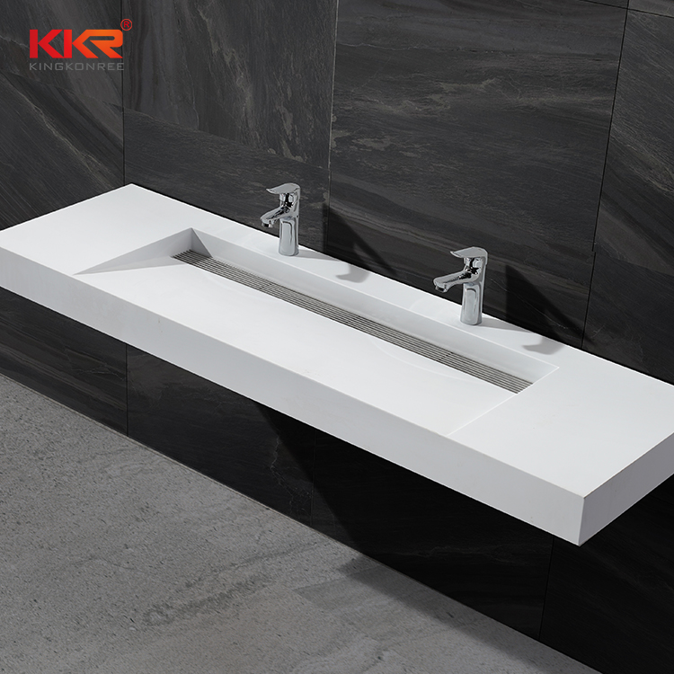 Acrylic Solid Surface Double Sinks Commercial Bathroom Double Sinks Bathroom Corner Sink Buy Solid Surface Integrated Bathroom Sink Commercial Bathroom Double Sinks Bathroom Corner Sink Product On Alibaba Com