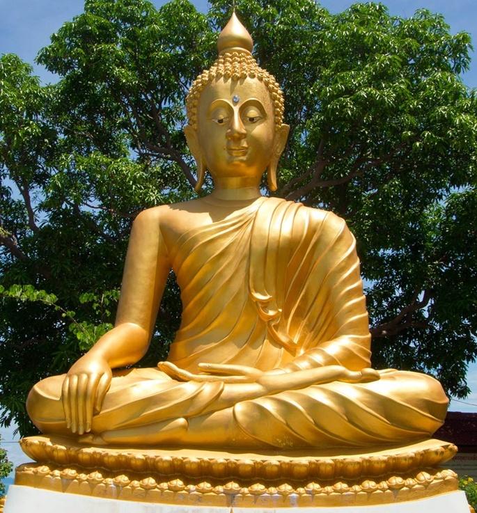 Carving Large Golden Fiberglass Praying Thai Buddha Statue For Outdoor Garden Decoration Buy Thai Buddha Gold Buddha Garden Buddha Product On Alibaba Com