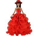 E TING Doll Clothes Accessories Gorgeous Formal Dress Party Gown For Barbie