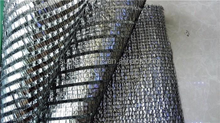 Heat Control Aluminum Foil Shade Cloth Aluminum Mesh Shade