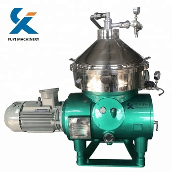 what is a oil separator disc centrifuge used for corn oil / peanut oil / palm oil