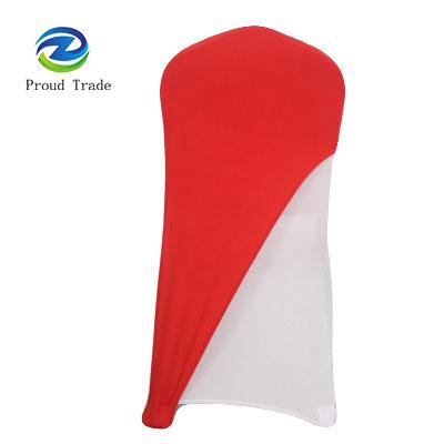 Distinct spandex wedding chair cover cap