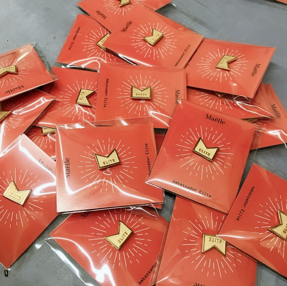 Enamel Pin Backing Cards Custom Pin Badge/custom Metal Brooch Pins ...