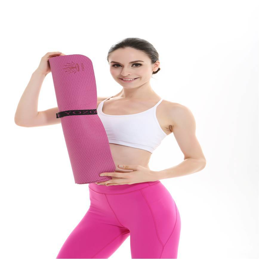 Custom Design Natural Yoga Mat Yoga Block Alternative