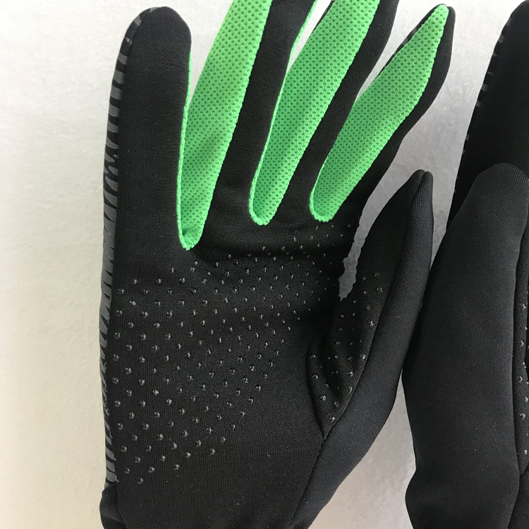 Сенсорный экран Светоотражающая Спортивная Тяжелая атлетика тренажерный зал мужские тренировочные перчатки для бега