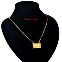 Женское колье-чокер, цепочка из нержавеющей стали золотистого/серебристого цвета, длиной 35 + 5 см, 2019(Китай)