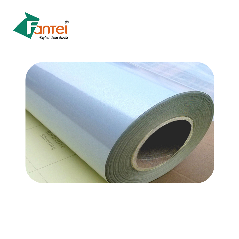 Silicon Kertas Lem Vinyl PVC Bahan Cetak Reflektif