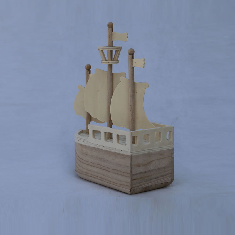 2017 hot sale boat model wooden boat