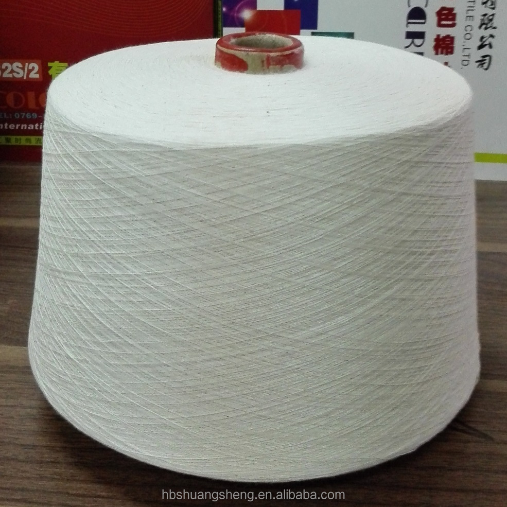 Best price raw white 100% 32s/2 combed cotton yarn