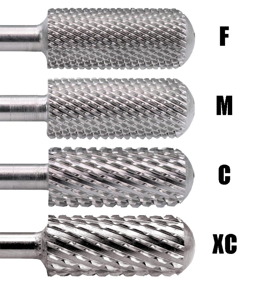 Безопасное маленькое Карбидное сверло C M F с гладкой поверхностью