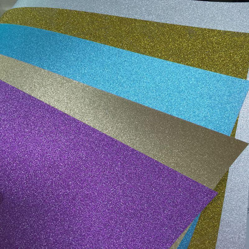 Nuevo 8 5 11 250g De Color Brillo Papel De Cartulina No Ha Brillo Polvo De Papel Brillo Buy Glitter Cardstock Paper Glitter Paper 250g Glitter Paper Product On Alibaba Com