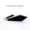 KH018,Black+tassel