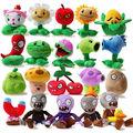 20pcs set Plants vs zombies Plush Toys Game Dolls PVZ 13 20cm High For Kids Toys