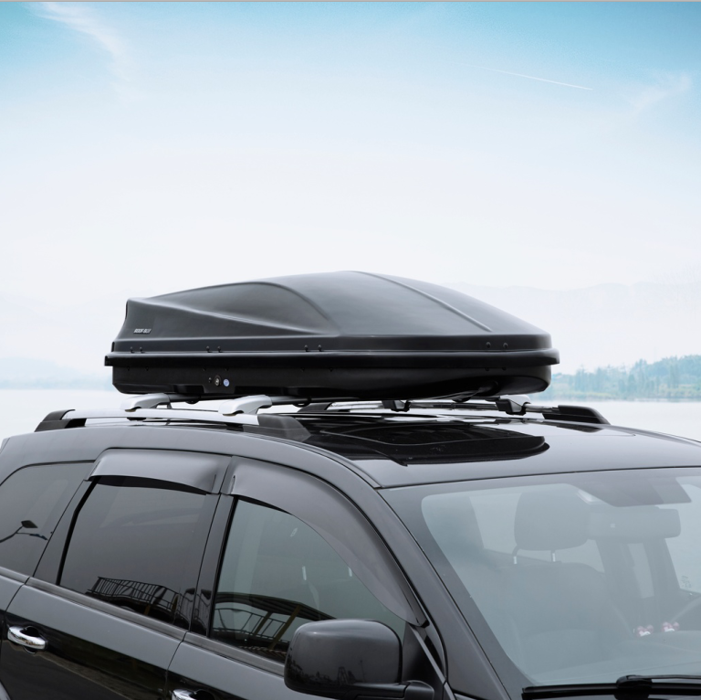 Single Opening plastic car roof box Which Easy to Open and Close
