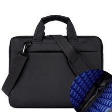 Nylon Shockproof Gasbag notebook portable fashion handbags  12 13 14 15.6 17 inch Women and men laptop bag shoulder computer bag