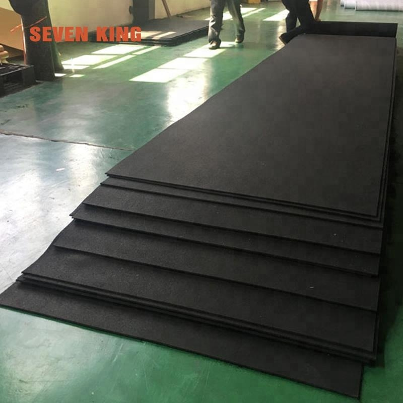 Wholesale 2 inch thick 10 x 10 gym rubber mat use for gym for sale
