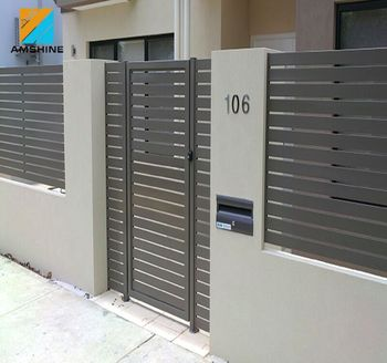 Aluminum Garden Fence Gate/Metal yard gates design