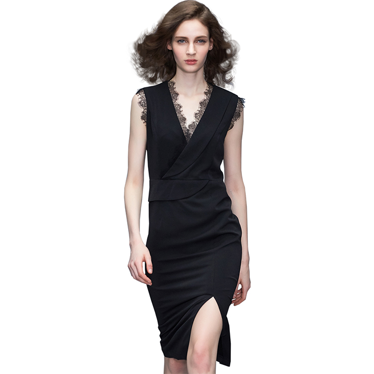 winter long loose bandage package hip sweater dress fashion knitted apparel for women