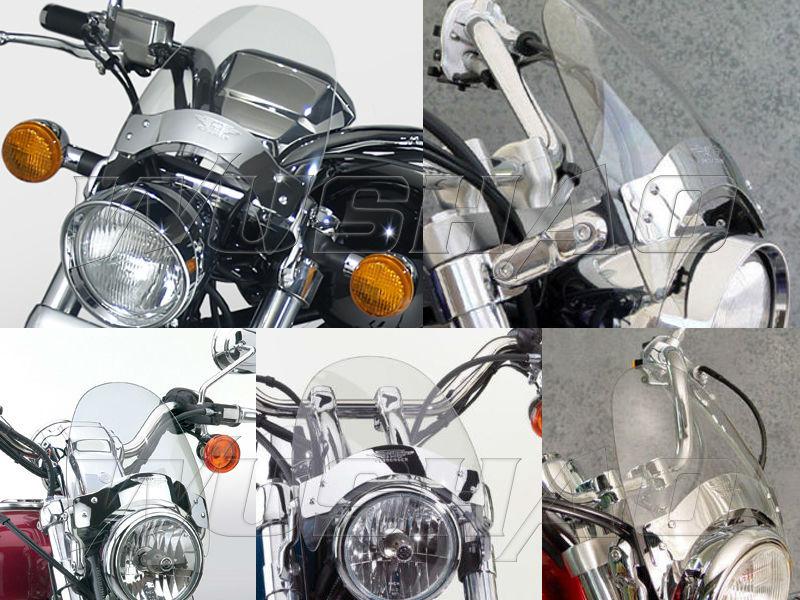 Motorcycle Windshield WindScreen For 2011 2014 Yamaha Stryker XVS1300 V  Star 650 XVS650 V Star Custom Bolt XVS950 R Spec Clear|windshield
