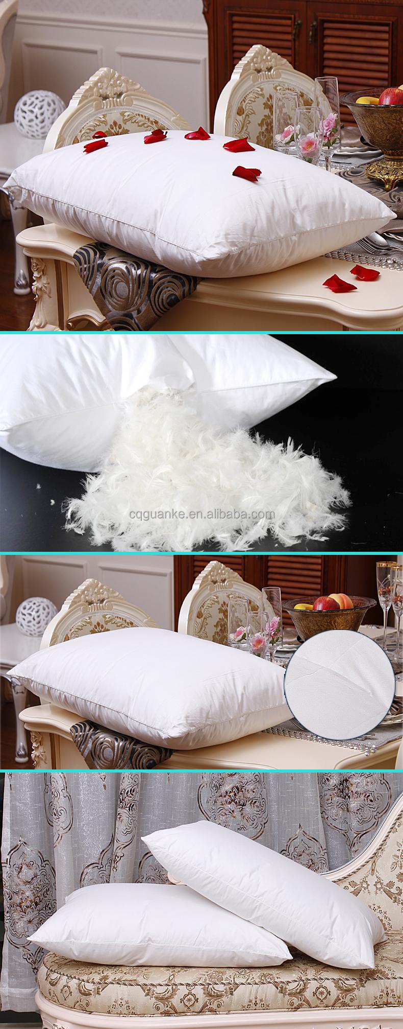 fabrication prix confortable luxe h tel accueil duvet d 39 oie oreiller oreiller id de produit. Black Bedroom Furniture Sets. Home Design Ideas