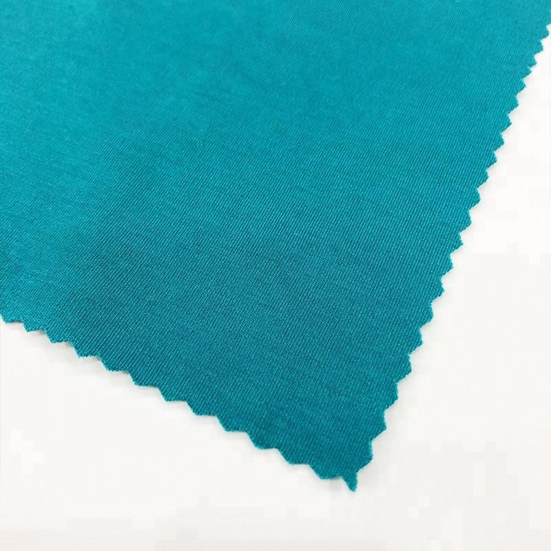 high quality clothing fabric 100s interlock cotton modal knit fabric