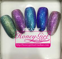 5pcs chameleon gel nail polish soak off uv color gel 6ml Free Shipping