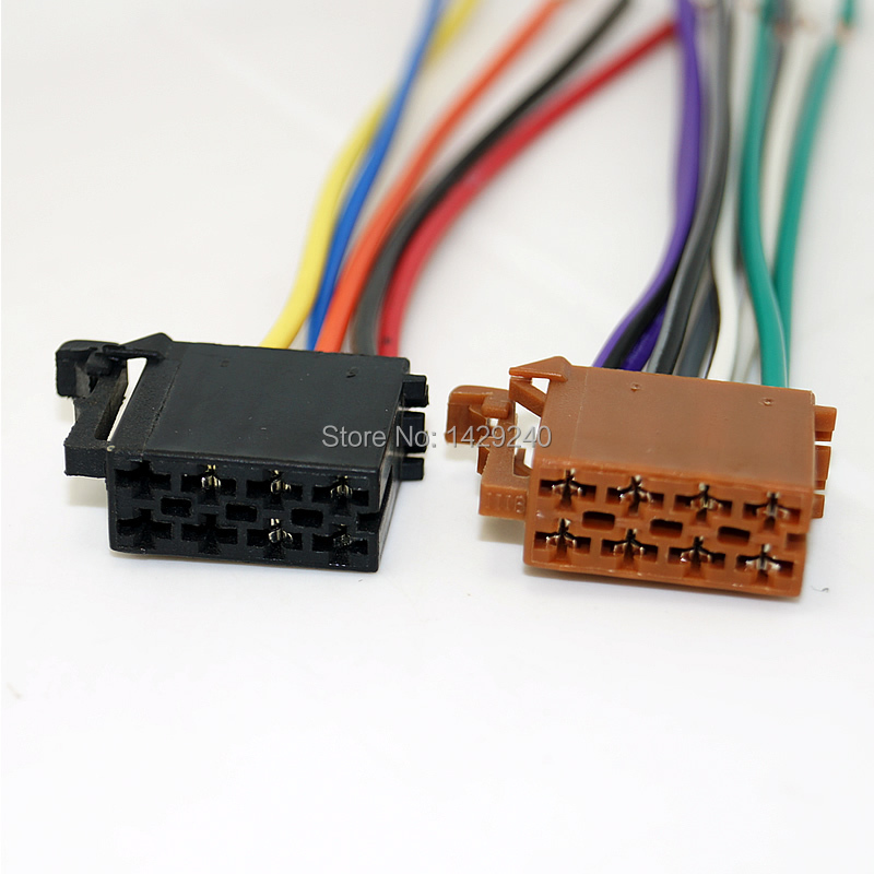 Incredible 2019 Universal Male Iso Radio Wire Cable Wiring Harness Car Stereo Wiring Cloud Intapioscosaoduqqnet