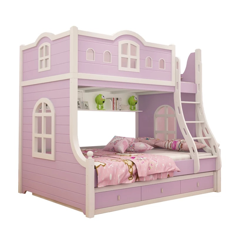 Bunk Bed Double Bed 3 Beds Kids Bedroom Furniture 619 Buy Kids Bunk Beds With Stairs Bunk Bed With Desk Kids Bed With Slide Product On Alibaba Com