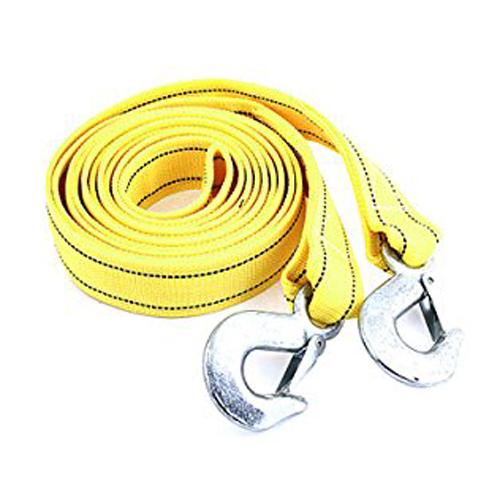 Продвижение! 4 м 5 тонн желтый нейлон пружиной автоэвакуация аварийной буксировки ремень