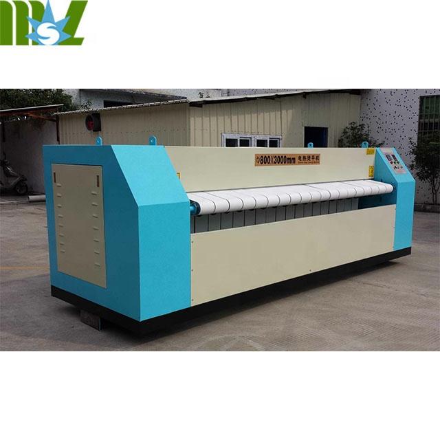 Коммерческая промышленная гладильная машина для стирки листов для использования в гостиницах и больницах
