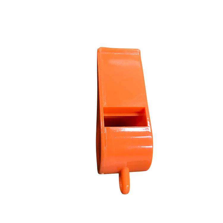 China Wholesale Customized Logo Loud Red Plastic Whistle
