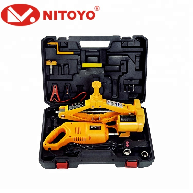 NITOYO BODY PARTS HOT SALE NTD2ST 2TON ELECTRIC CAR JACK FOR AUTO CARS