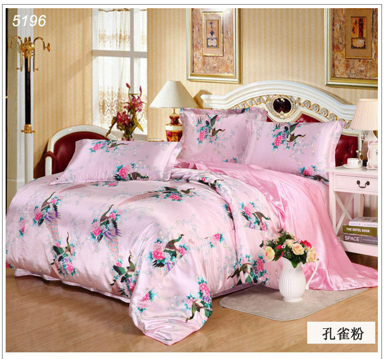 Mufly Luxury 4Piece Satin Silky Bed Sheet Set Bedding Collection,Duvet Cover Sets Flat Sheet SetViolet,Queen. Sold by FastMedia. $ - $ $ - $ Blancho Bedding [Pink Princess] Quilted Patchwork Down Alternative Comforter Set (Full/Queen Size) Sold by Media Mogul.