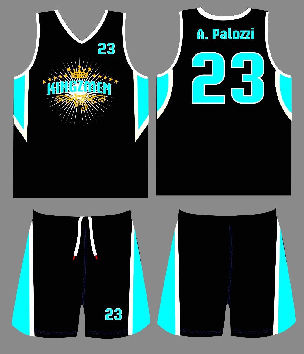 Design Your Own Basketball Uniform 76