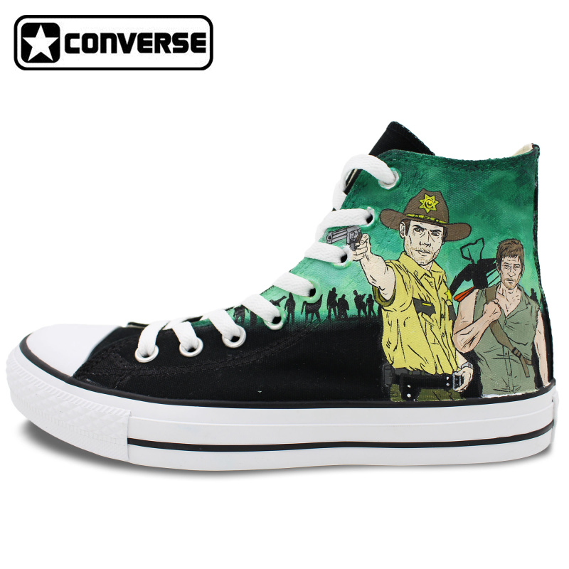 Converse All Star Walking Dead Shoes