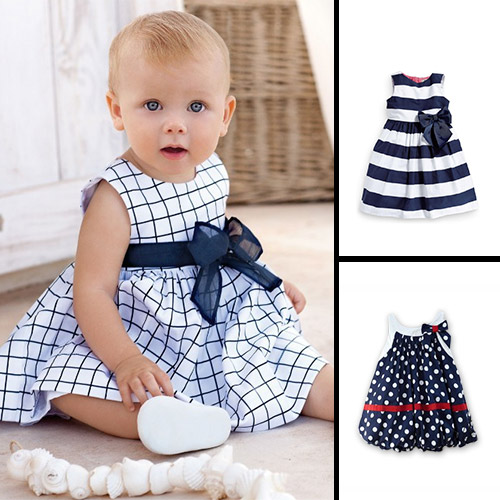 2015 New Cute Baby Dress Baby Girl Dress Chiffon Summer Baby Clothing  Flower Dress For Girls e6531a6ea