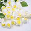 500PCSสีเหลืองดอกไม้หัว