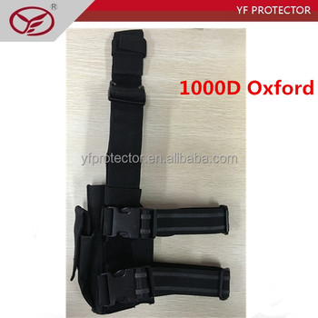 1000D Oxford adjustable leg holster/tactical pistol holster for military use