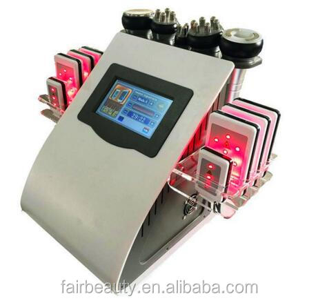 6 in 1 Vacuum Cavitation System Type and Weight Loss radio frequency lipolaser cavitation rf slimming beauty machine
