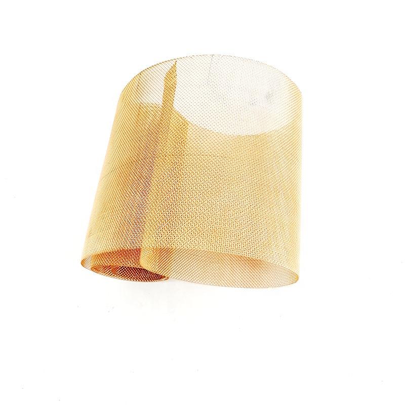250 сетка красный медный провод Faraday клетка Экранирование сетчатый фильтр