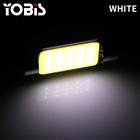 Led Light White White Led Car Interior Light 39mm 6000K Led Light Car Interior White Dome Festoon Light Bulb
