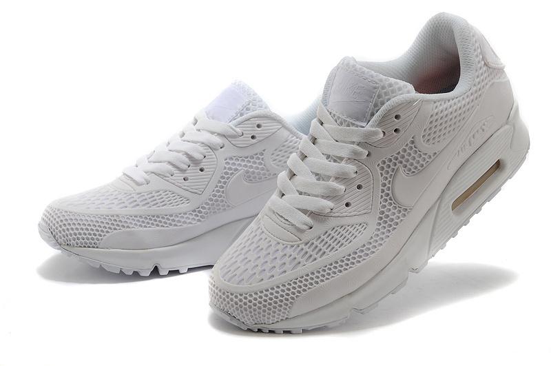 All White Ladies Tennis Shoes