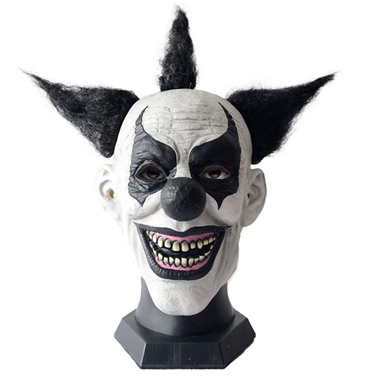 2019 New arrival carnival cosplay halloween latex clown masks clown mask