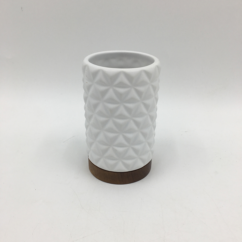 Matt White Ceramic Tumbler Ceramic Mug Ceramic Cup With Wood Buy Matt Ceramic Tumbler Matt White Ceramic Mug Ceramic Cup With Wood Product On Alibaba Com