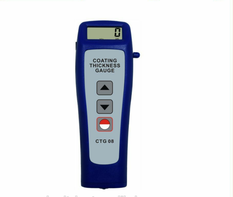 Digital Coating Thickness Gauge Car Paint Thickness Meter Magnetic Induction/Eddy Current(F/NF)1250um Mini CTG-08