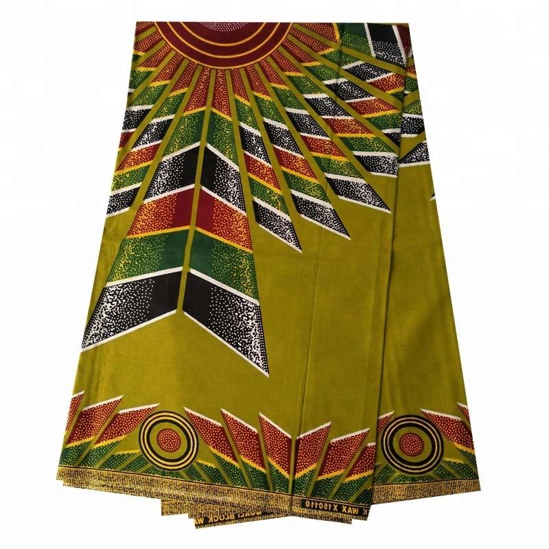 holland wax 100% Cotton African Real Wax Fabric