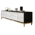 high gloss fancy design tv units new model black tempered glass gold contemporary tv stand cheap modern price home furniture