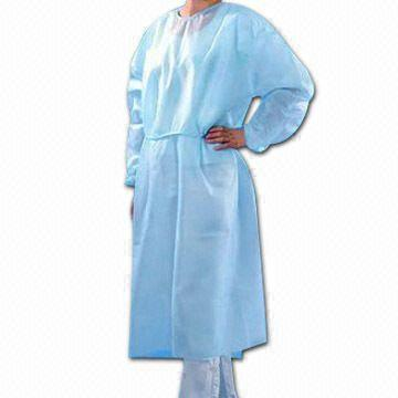 35g 40g PP+PE waterproof isolation gown - KingCare | KingCare.net