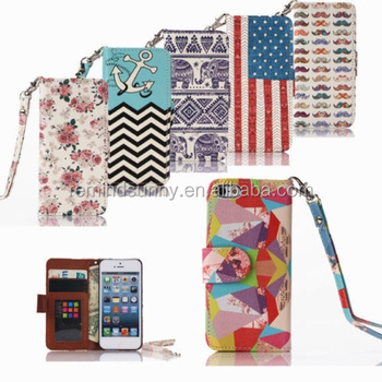 Leather Wallet Card Case Flip Stand Cover For Apple iPhone Samsung Galaxy For iPhone6Plus/7/8 & Samsung Galaxy