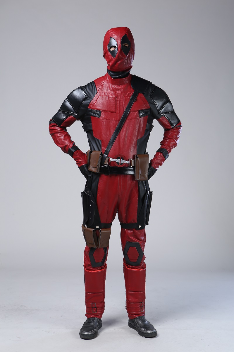 Custom Made High Quality Deadpool Costume Adult Synthetic ...
